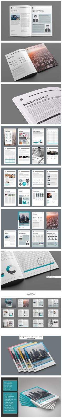 Business Proposal IndesignMS Word Brochure Templates