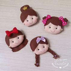 Image Article – Page 758645499713187269 Felt Crafts, Fabric Crafts, Diy And Crafts, Felt Dolls, Paper Dolls, Felt Coasters, Felt Art, Craft Projects, Sewing Patterns