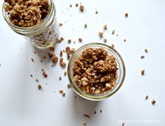 nut & date granola (no sugar)