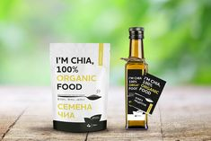 I'm Chia, 100% Organic Food on Packaging of the World - Creative Package Design Gallery