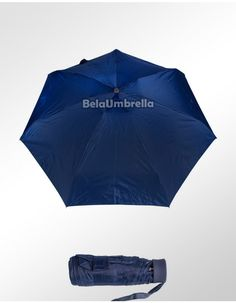 Sombrinha Fazzoletti Super-Mini Basic Azul