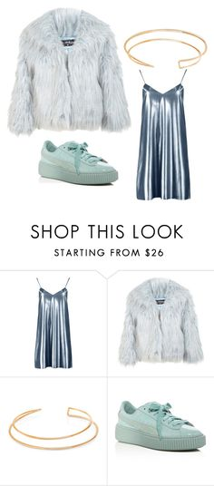 """jesy nelson- shoutout to my ex"" by alexamich on Polyvore featuring Boohoo, Miss Selfridge, BERRICLE and Puma"