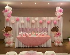 70 best Ideas for baby shower girl theme princess backdrops Baby Shower Photo Booth, Baby Shower Photos, Best Baby Shower Gifts, Girl Baptism Centerpieces, Baby Shower Centerpieces, Baby Girl Shower Themes, Baby Boy Shower, Christmas Baby Shower, Baby Shower Balloons