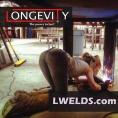 #chicks #chicksofinstagram #girlsofinstagram #girlswhoweld #welder #longevity #longevity #longevitywelder #migweldingaluminum #tigwelding #migandtigwelding #migweldingisfun #stickwelding #stickweldingmachines #weldingmachines #weldporn #weldergirls