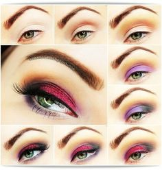 Tequilla Sunrise -#tequilla #sunrise #makeup #eyeshadow #eyetutorial #eyemakeup #inka2504 - bellashoot.com