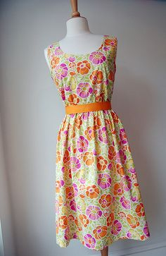 Party Dress by spoolsewing, via Flickr