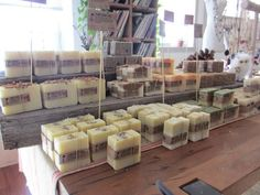 Craft show display idea for soap. Love the tall signage Craft Fair Displays, Display Ideas, Booth Displays, Display Design, Soap Display, Craft Stalls, Soap Shop, Soap Making Supplies, Soap Maker