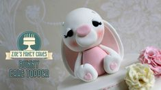 How to make a cute bunny rabbit cake topper In this modelling tutorial I show you how to make a little bunny rabbit model to use as a cake topper. You could ...