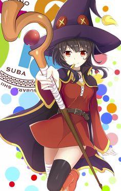 Megumin (Kono Subarashii Sekai ni Shukufuku wo!) - Taringa!