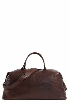 3b32ed7412c8 Moore   Giles Benedict Leather Duffel Bag