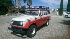 1976 Toyota Land Cruiser (Original color/tri 265/EA12 two tone red and white/Tan)