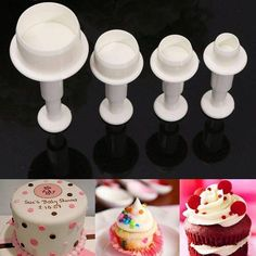 Other Baking Accessories Trend Mark Jem Set Of 2 Wide Frills Border Design Cutters Icing Sugarcraft Cake Decoration Fast Color