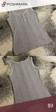 Tommy Hilfiger Striped Tank Worn with care  Only worn few times No flaws  Fiber content  100% cotton  Care info  Machine wash Tommy Hilfiger Tops Tank Tops