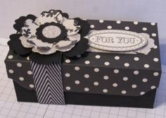 In My Craft Room: Modern Medley Box Using The Envelope Punch Board by Stampin' Up!