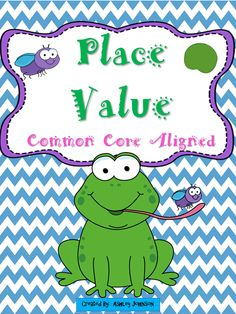 This Place Value packet can be used as an introductory lesson or as a Math Station activity. Below is a detail list of what you will get with this packet. Common Core aligned. $