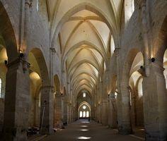 Abbaye de Noirlac (Cher). Centre