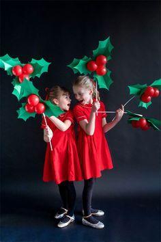 Holly Balloon Sticks | Oh Happy Day!