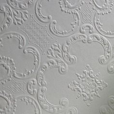 "Brewster Home Fashions Anaglypta Paintable Alfred Supaglypta 33' x 20.5"" Damask 3D Embossed Wallpaper & Reviews 