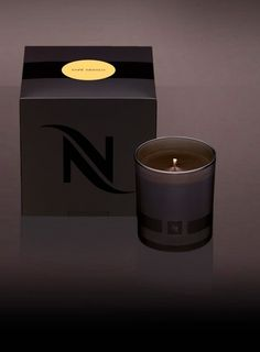 Nespresso's Premium Scented Candle | Savor the aroma of exceptional coffees with a Nespresso scented candle. It makes a great stocking stuffer!