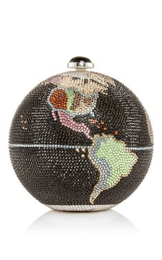 Globe clutch by JUDITH LEIBER for Preorder on Moda Operandi