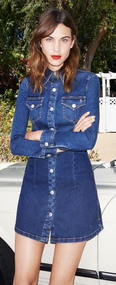 Channel Your Inner Alexa With Chung's AG Jeans Collection