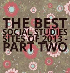 The Best Social Studies Sites Of 2013 – Part Two