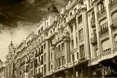El cielo de Madrid - Desde la Gran Vía