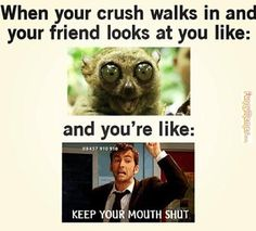 memes about crushes - Pesquisa Google More
