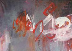acrylique (146 x 97 cm) x 2, elisabeth gevrey