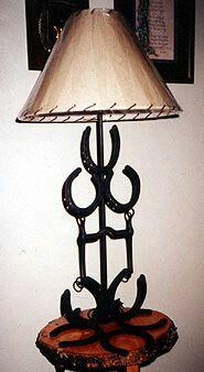 Horseshoe/Bit Lamp
