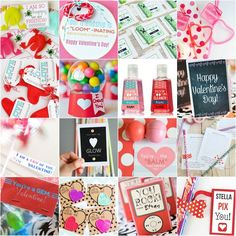 Many free printable Valentine Printables - the kids will love to help making these for their classmates and friends!