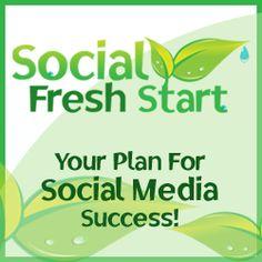 Review of Social Media Fresh Start - planning for success on 6 social media sites.