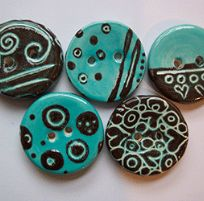 Magpie & Butterfly Hand-crafted boutique buttons from Cornwall