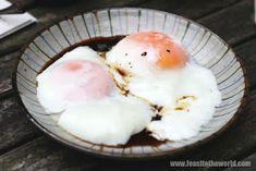 FEAST to the world: Singapore Half-Boiled Eggs - Pure Egg Perfection! Boiled Egg Times, Half Boiled Egg, Boiled Eggs, Egg Recipes, Asian Recipes, Yummy Recipes, Onsen Egg, Singapore Food, Breakfast Snacks