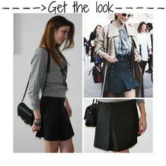 Piacente schoolgirl skirt | Mlle Frivole Get The Look, Short, Skater Skirt, Fashion, Skirt, Moda, Skater Skirts, Fasion, Trendy Fashion