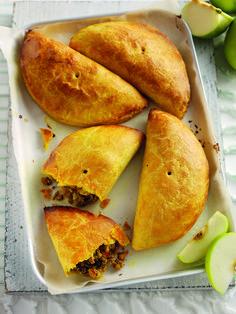Pork & Bramley Apple Jamaican Spiced Patties | Bramley Apples