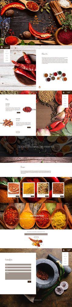 The Merchants of Chai - Website on Behance