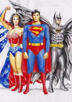 TRINITY by Ianrialdi. Linda Carter, Christopher Reeve & Michael Keeton. Best ever!!!!