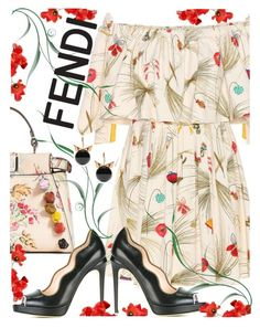 """Fendi"" by juliehooper ❤ liked on Polyvore featuring Fendi"