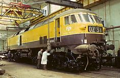 HS4000 at Derby. | Being remounted onto overhauled class 47 … | Flickr