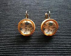 Handmade Gemstone JewelrySterlingBrassNickel silver von KqJewels Pocket Watch, Cufflinks, Jewels, Gemstones, Etsy, Silver, Handmade, Accessories, Bird Earrings