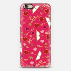 Cupid Love (Berry Pink) iPhone 6 Case by Lisa Argyropoulos get $10 off using code: H5E5FU