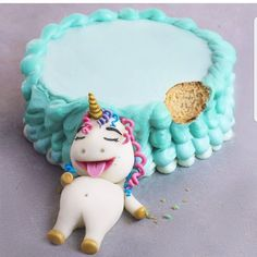 Gourmande comme une licorne !   by amourducake