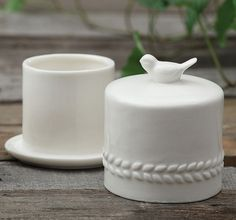 Ceramic Butter Crock | Ceramic Butter Dish