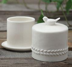 Ceramic Butter Crock | Ceramic Butter Dish