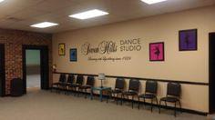 Dance Studio Wall Design