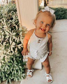 Cute Baby Girl Outfits, Cute Baby Clothes, Toddler Outfits, Kids Outfits, Baby Girl Fashion, Kids Fashion, Cute Kids, Cute Babies, Future Mom