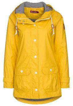 PENINSULA FISCHER - Regenjacke / wasserabweisende Jacke - gelb