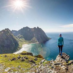 Mt Ryten, Lofoten Islands, Norway   by Rover Ramirez