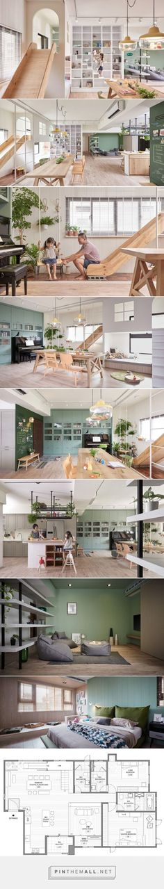 HAO design completes a 'family playground' in taiwan - created via http://pinthemall.net 生活が楽しくなるということもデザインだと思う